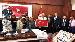 Alaplı İlçe Milli Eğitim Müdürü Cevat Çevik'e ziyaret