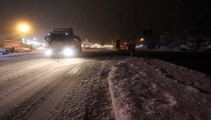 Düzce'de kar yağışı etkili oluyor