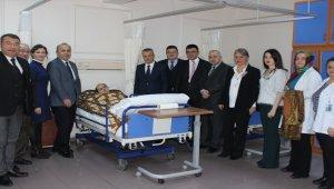 Zonguldak'ta, evde sağlık hizmetleri ünitesi hizmete başladı