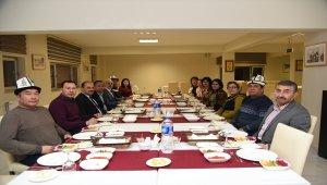 Oş Devlet Üniversitesi heyeti Kastamonu'da