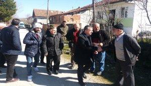 Başkan adayı Özdemir'den mahalle ziyareti