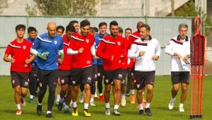 Boluspor'da Kardemir Karabükspor maçı hazırlıkları