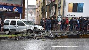 Trabzon'da trafik kazası