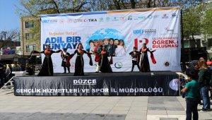 Yabancı öğrenciler Düzce'de buluştu