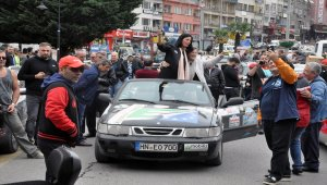 Europa-Orient/Doğu-Batı Dostluk ve Barış Rallisi Zonguldak'ta