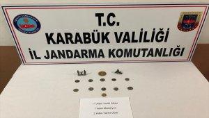 Karabük'te tarihi eser kaçakçılığı operasyonu