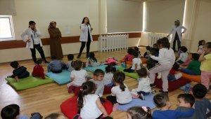 Mudurnu'da öğrencilere temizlik ve diş sağlığı eğitimi