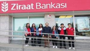 Öğrencilerden okul aile birliğine destek