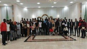 OMÜ'deki yabancı öğrencilere iftar
