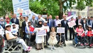 Reşadiye'de Engelliler Haftası etkinliği