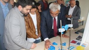 Vezirköprü'de TÜBİTAK 4006 Bilim Fuarı açıldı