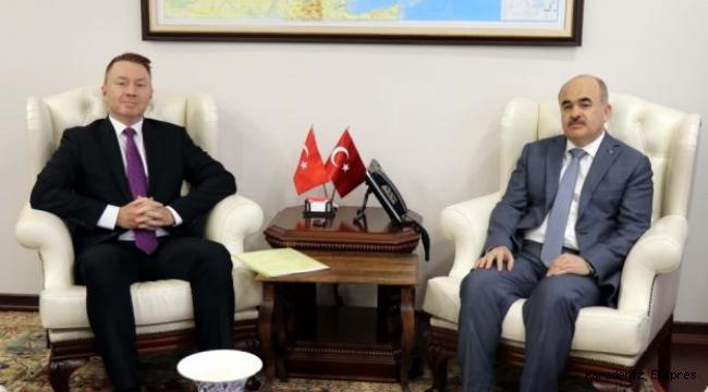 Avustralya'nın Ankara Büyükelçisi Brown Düzce'de