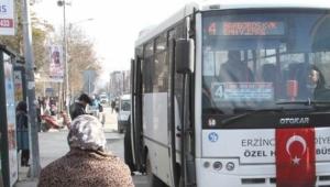 Erzincan'da kent içi ulaşıma 10 yeni midibüs