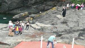 Öğrenciler Giresun Adasını ilk kez gördü