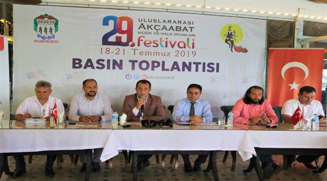 29. Uluslararası Akçaabat Müzik ve Halk Oyunları Festivali düzenlenecek