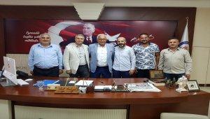 Ereğli Belediye Başkanı Halil Posbıyık'a ziyaret