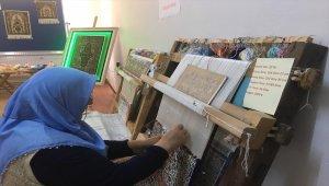 Kürtün'de Hereke ipek halı sergisi açıldı