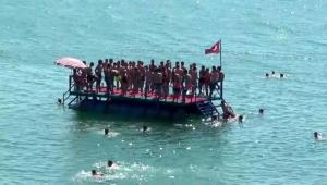 Zonguldak sahillerinde yoğunluk