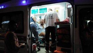 Bafra'da bıçaklı kavga: 2 yaralı