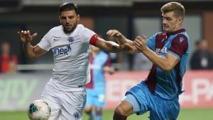Futbol: Süper Lig: Kasımpaşa: 1 Trabzonspor: 1