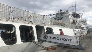 Gemi ve askeri denizaltıziyarete açıldı
