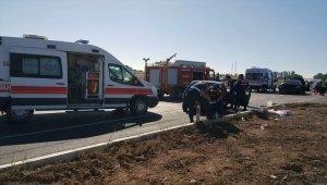 GÜNCELLEME - Amasya'da trafik kazası: 1 ölü, 5 yaralı