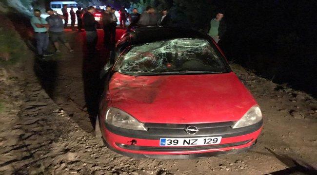 Samsun'da otomobil uçuruma devrildi: 1 ölü