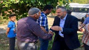 Başkan Kılıç'tan uzak mahallelere ziyaret