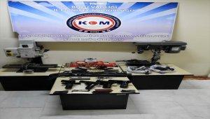 Bolu'da kaçak silah atölyesine operasyon