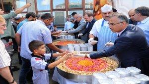 Cumhurbaşkanlığından Rize'de vatandaşlara aşure ikramı