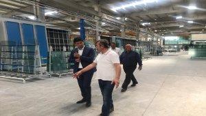 Kaymakam Şenay'dan fabrika ziyareti