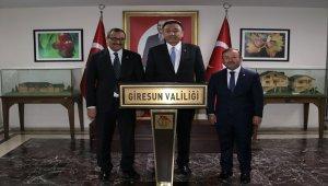 Kırgızistan Ankara Büyükelçisi Ömüraliyev Giresun'da