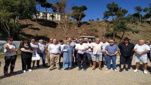 Sinop'ta ağaç kesimiyle ilgili suç duyurusu