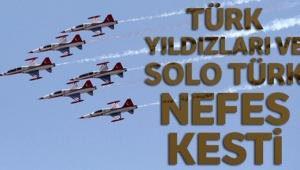 SOLOTÜRK Sinop'ta gösteri uçuşu yaptı