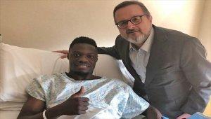 Trabzonspor'da Ekuban ameliyat edildi