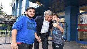 Trabzonspor, eksik kadroyla İspanya'ya gitti