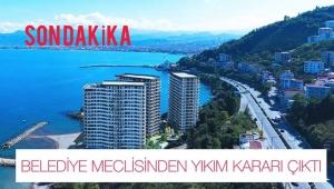 Ordu Büyükşehir Belediyesi Encümeninden flaş karar