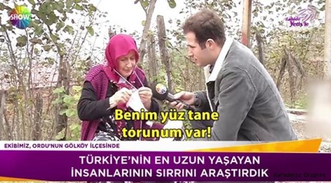 Türkiye'nin uzun ömürlü insanları burada!