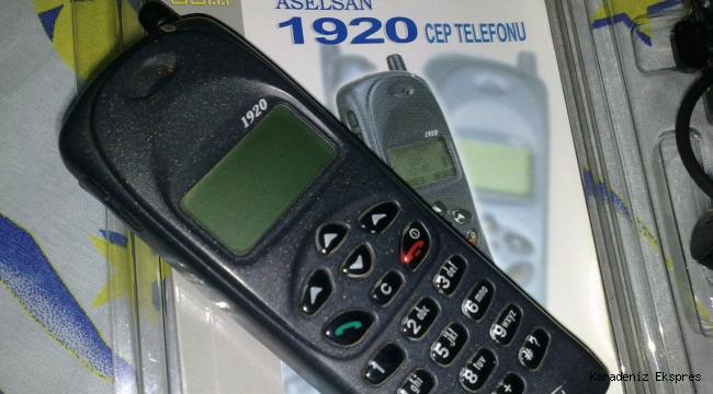 Yıl 1994 Türkiye, Aselsan 1919 marka ilk yerli Cep telefonunu üretir