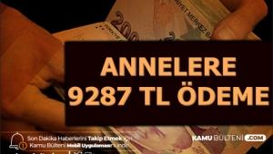 Annelere 9287 TL Ödeme 2020
