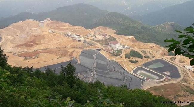 Siyanürlü altın madenciliği Ordu'yu zehirliyor