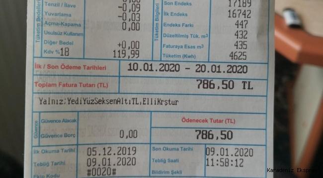 Türkiye'nin gerçek gündemi doğalgaz faturaları