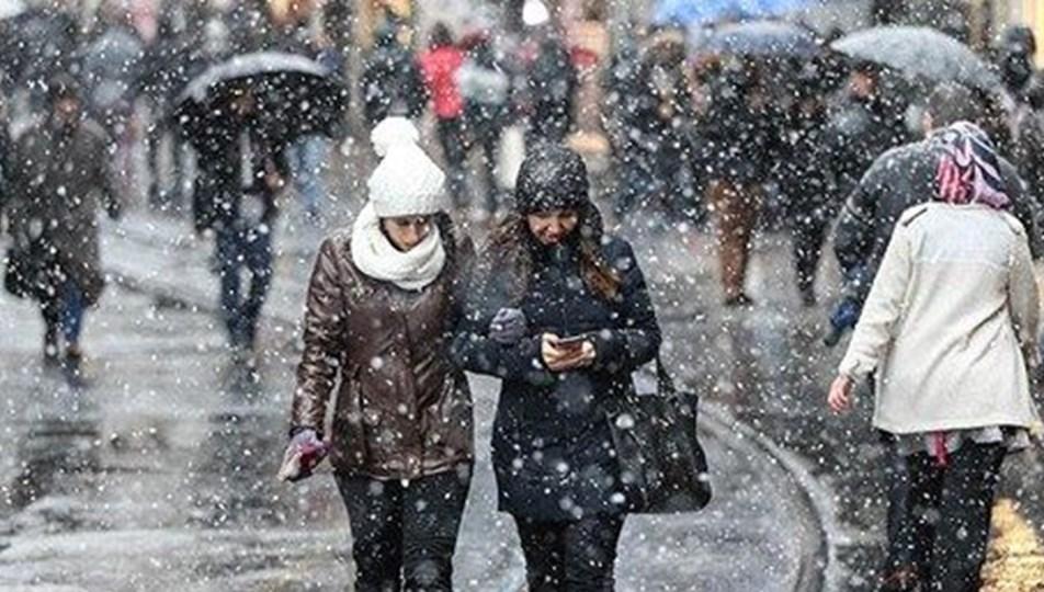 Meteoroloji'den kar yağışı ile ilgili yeni uyarı