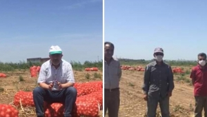 Adanalı çiftçilerden İstanbul'daki ihtiyaç sahibi ailelere...