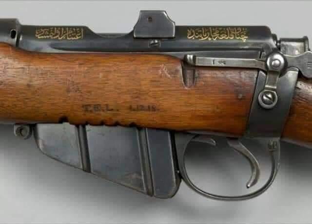 Araplar bizi neden sattı diyenler bu tüfeğe iyi baksınlar!..