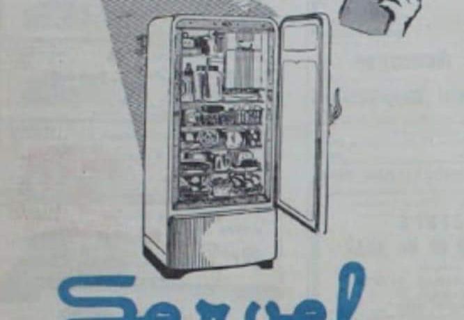 Bizim eve ilk buzdolabı Ankara'da, 1950'li yılların ikinci yarısında taksitle alınmıştı...