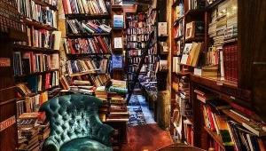 Eski kitaplarda kitap severlerin burnu tatlı bir misk kokusu algılar