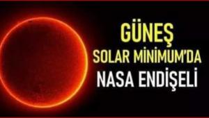 NASA uyardı.''Güneş uyudu, Mini Buzul Çağı başlıyor!''