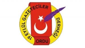 ORDU GAZETECİLER CEMİYETİ BEKÇİLERİN TAVRINI KINADI...