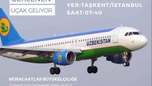 Özbekistan Havayolları Taşkent-İstanbul seferi gerçekleştirecek